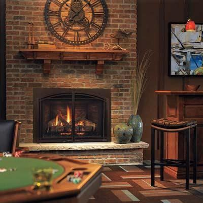 mantles clock  gas fireplaces  pinterest