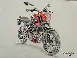 Bike Drawing Pictures At Getdrawings Com
