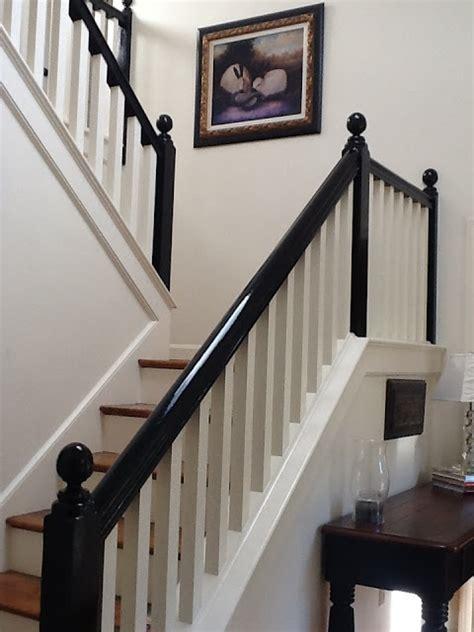 Black Staircase Banister best 25 black banister ideas on stairs