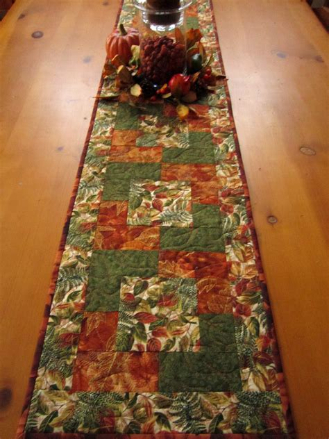 fall table runners to make autumn colors fall table runner on luulla
