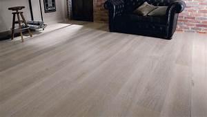 Parquet Contrecollé Chene Blanchi : parquet contrecoll ch ne blanchi woodloft saint maclou floors hardwood floors flooring ~ Melissatoandfro.com Idées de Décoration