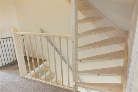 zoldertrap hek vaste trap naar zolder open uitvoering in brielle