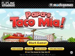 jeux de cuisine de papa louie papa s taco un des jeux en ligne gratuit sur jeux jeu fr