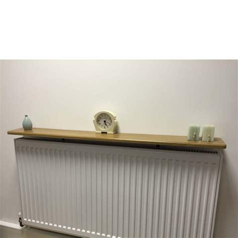 radiator cabinet with shelves rounded radiator shelf 900x150x18mm oak ebay