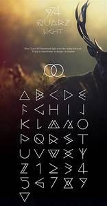 Download Quarz 974 Light Font  Typeface