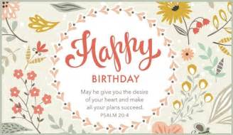 Happy Birthday Christian Cards