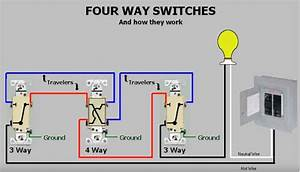 Help With Wiring 4-way Ge  Jasco Light Switches