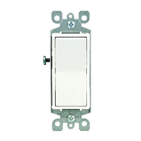 Illuminated Wall Switch Wiring Diagram by Leviton Decora 15 Illuminated Switch White R72 05611