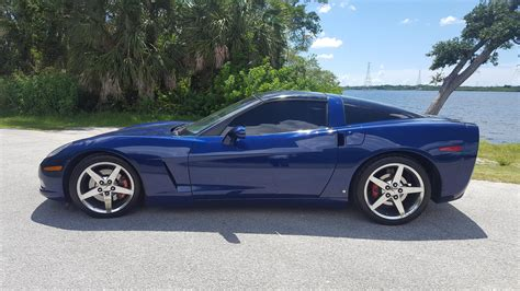 Lemans Blue 2007 Chevrolet Corvette