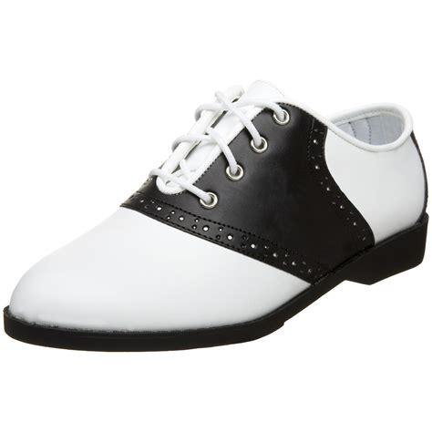 shoes saddle 1950s oxford 50s womens shoe ladies halloween funtasma pleaser dance grease costume amazon 1950 oxfords heels flats styles