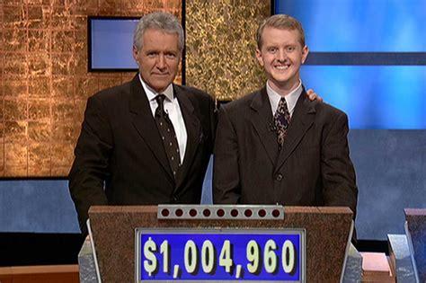 jeopardy money win most productions alex trebek jennings ken inc much did