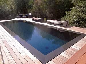 piscine miroir a debordement 6 piscines miroir et With piscine miroir a debordement