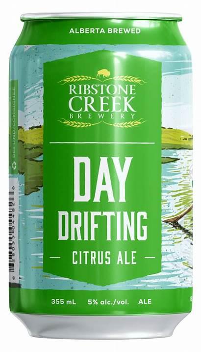 Drifting Citrus Ale Ribstone Creek Beer Brewery