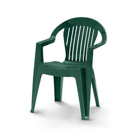 chaise de jardin verte chaise de jardin resine verte