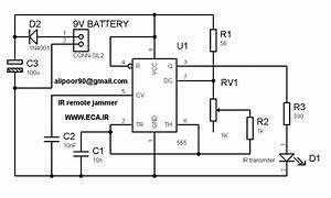 ir remote control jammer electronics lab With infrared switch using any infrared remot