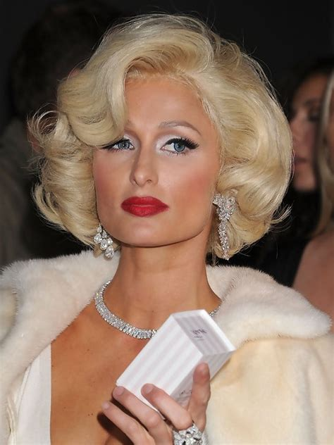 paris hilton short curly bob hairstyle styles weekly