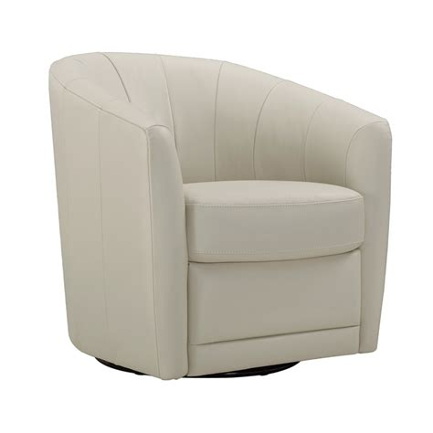 Delivering products from abroad is always free, however, your parcel may be subject to vat, customs duties or other taxes, depending on laws. Natuzzi Cream Leather Swivel Accent Chair | Costco UK