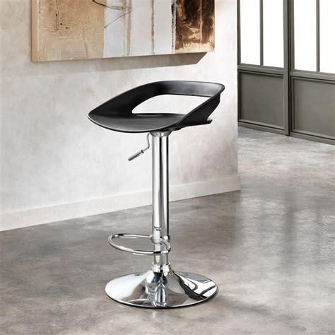 sgabelli design set 2 sgabelli in metallo cromato e pvc aldo design moderno