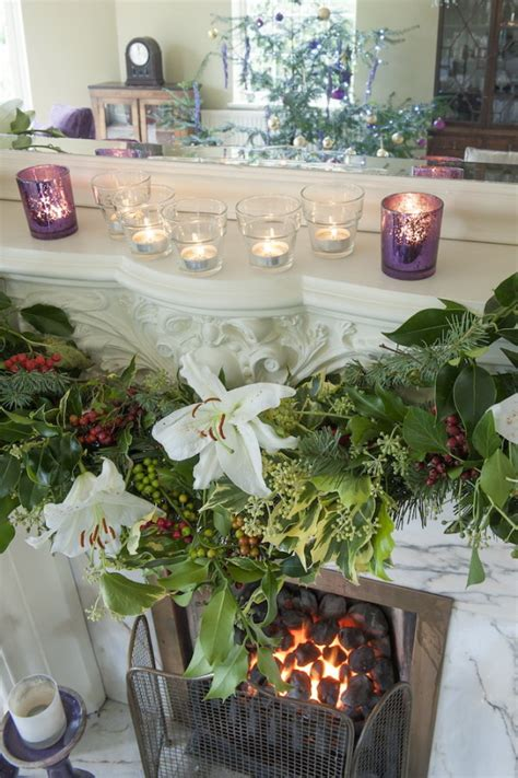 beautiful traditional english style christmas decorations