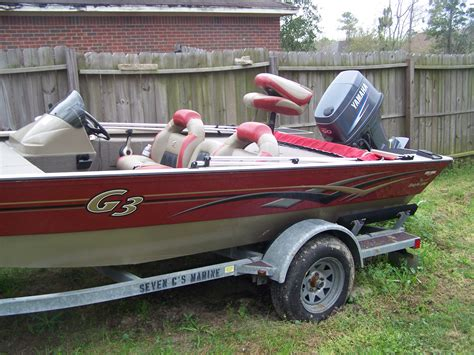 G3 Boats For Sale by 2008 G3 Eagle 180 Bass Boat For Sale The Hull