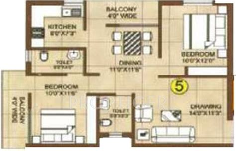 925 Sq Ft 2 Bhk 2t Apartment For Sale In Bikash Infra And