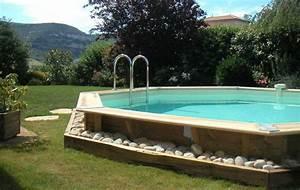 Tour De Piscine Bois : petite piscine hors sol de r ve carr avec terrasse ~ Premium-room.com Idées de Décoration