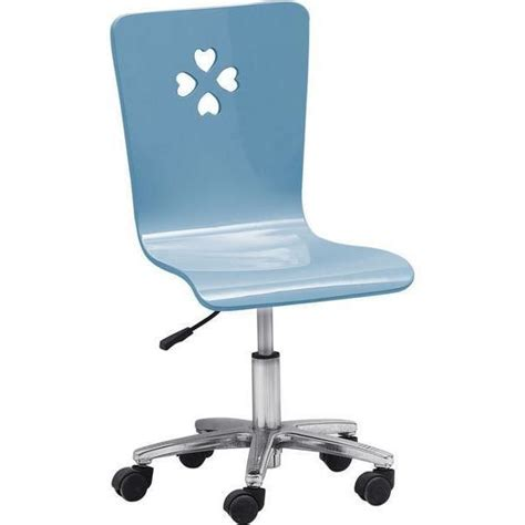 kids swivel desk chair blue lover kids gas lift swivel desk chair in blue buy