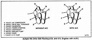 Trying To Replace The Serpentine Belt On A 88 Chevy Gm4 That Has A 94 Engine In It   Need A Diagram