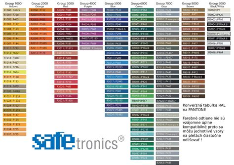 pin ral to pantone rgb converter color palette hex and on
