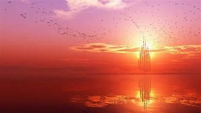 Horizon Wallpapers Stunning Desktop Sunset Landscape Earth