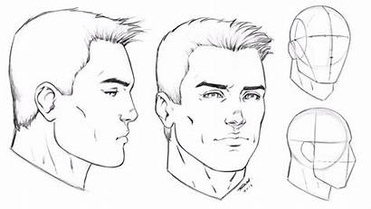 Male Face Drawing Profile Angles Draw Angle