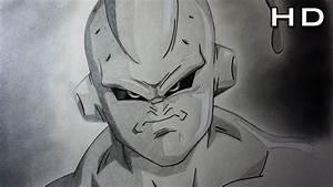 Cómo Dibujar a Majin Buu Flaco Enojado Paso a Paso a Lápiz Dibujo Fácil de Majin Buu Dragon