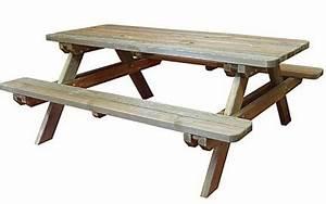 Table Picnic Bois Pas Cher : mobilier de jardin en bois r sineux comptoir des bois ~ Melissatoandfro.com Idées de Décoration