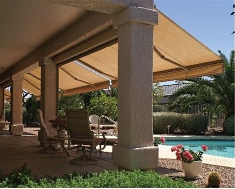 retractable awnings with sunbrella fabric traditional