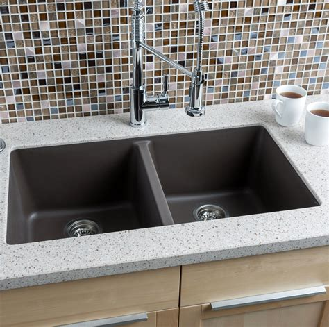 hahn    granite extra large double bowl kitchen