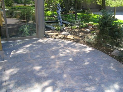 textured concrete patio atlantis concrete and construction llc photo gallery