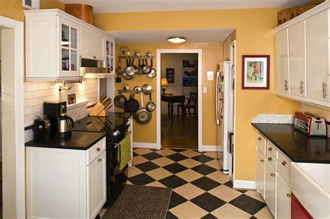 black and white checkered kitchen floor s cheery cape cod kitchen hooked on houses 9268