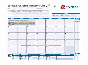 workout schedule template 7 free sample example format With workout plan template pdf