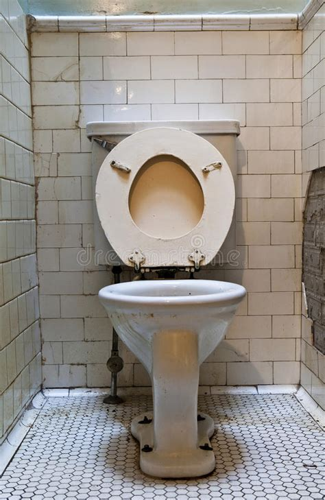 Dirty Old Toilet Royalty Free Stock Photography Image