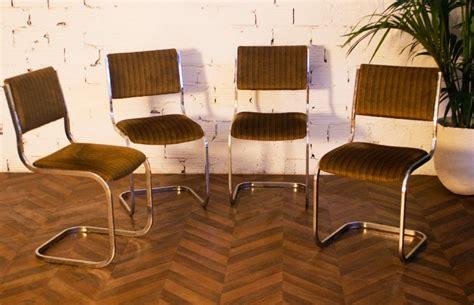 ensemble salle a manger table vintage 233 es 70 verre fum 233 inox m 233 tal chaises