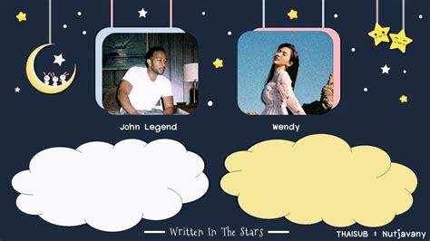 [thaisub] John Legend X Wendy (red Velvet)