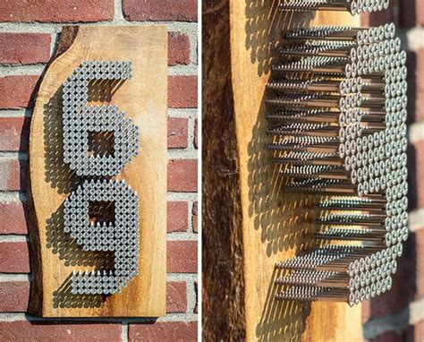 fascinating ways  display  house number