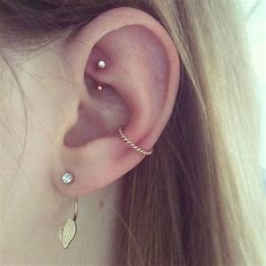 206 best images about Ear Piercings on Pinterest   Daith ...