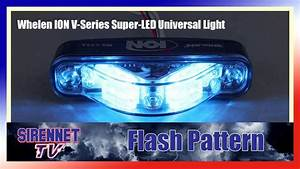 Flash Pattern  Whelen Ion V