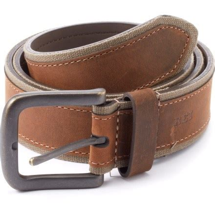Rei Coop Canvas Leather Belt  Men's At Rei