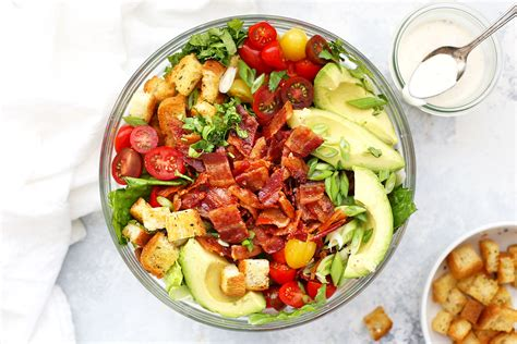 Ranch Dressing Houses Not Salads by Blt Salad With Ranch Dressing Gluten Dairy Free
