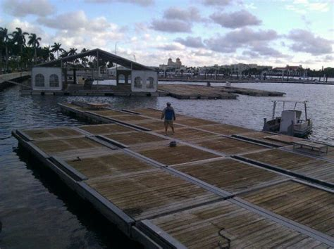 Floating Boat Show by Floating Docks At The Palm Boat Show Palm