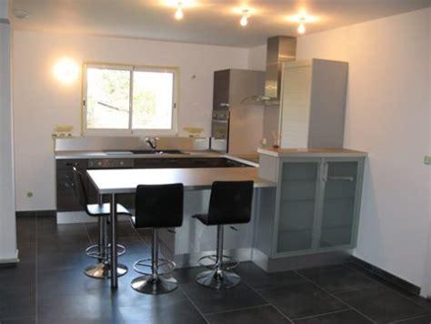 chaise haute cuisine alinea table hauteur plan de travail