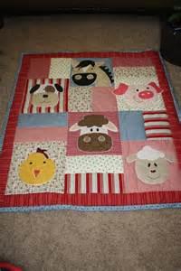 Farm Animal Baby Quilt