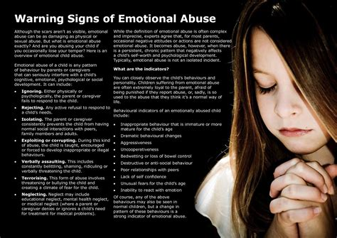 freedom code the freedom code program 526 | warning signs of emotional abuse